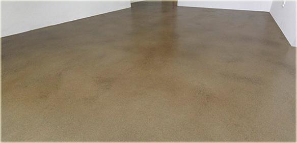 Betonboden Reinigen schutz und optionale pigmentierung roher betonböden